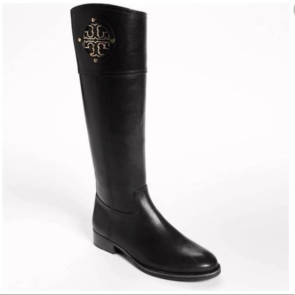 79c1adc2c13bf Tory Burch Kiernan Riding Boots Size 8.5. M 5a52c32400450feb020077ed